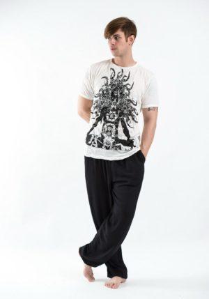 SURE_DESIGN_Chakra Meditation T-Shirt White