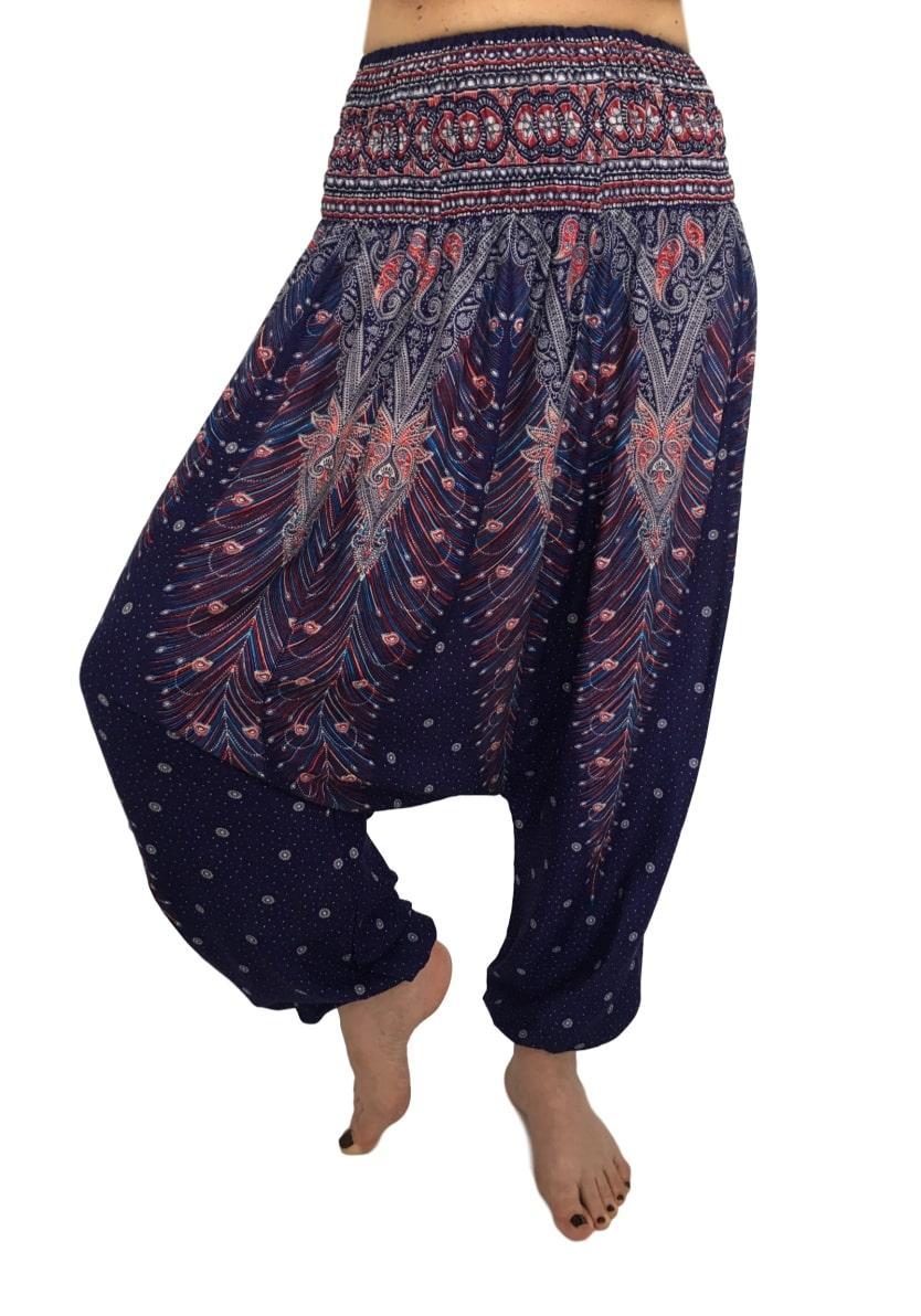 Фото Женские штаны шаровары Sure Design фиолетовые