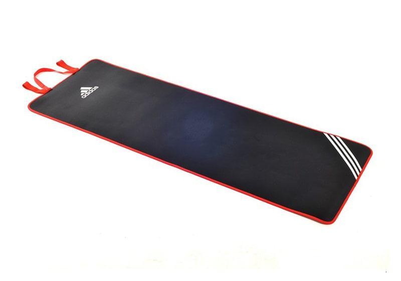 Фото Коврик для фитнеса Adidas 7 мм с ремешком