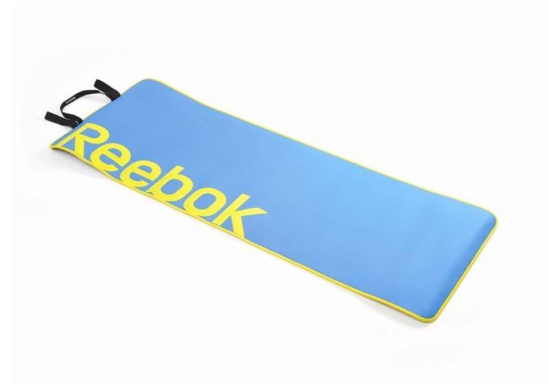 Фото Коврик для йоги Reebok 6 мм с ремешком