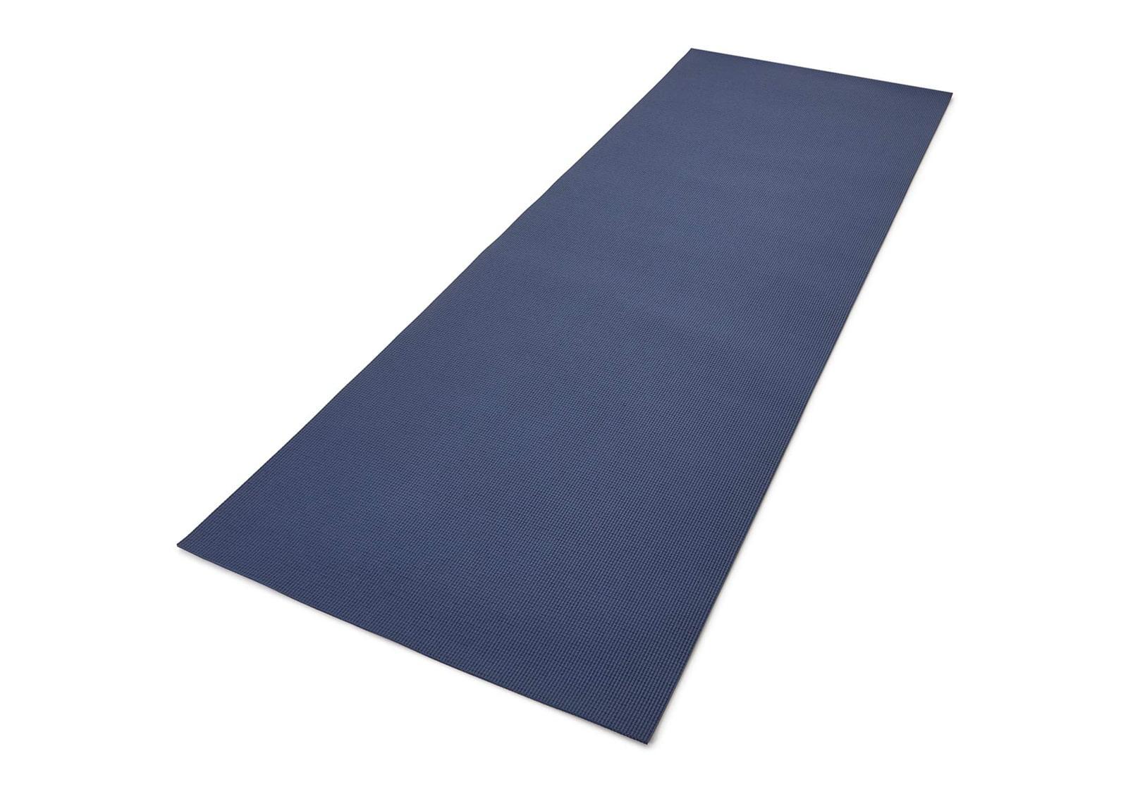 Фото Двухсторонний коврик для йоги Reebok 4 мм Blue Brush