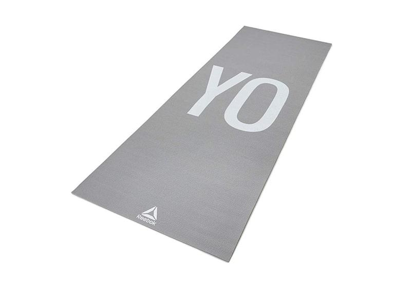 Фото Двухсторонний коврик для йоги Reebok 4 мм Yoga