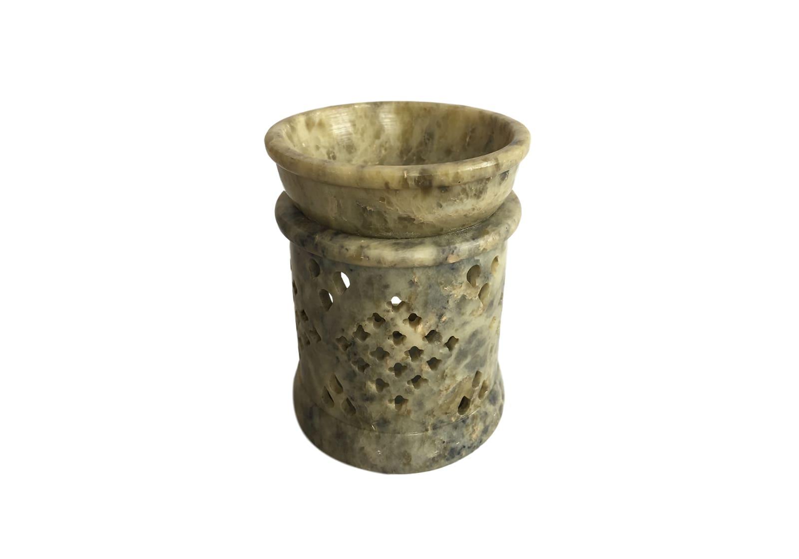 Фото Аромалампа каменная 9*7*7,5 см Индия (арт.505)