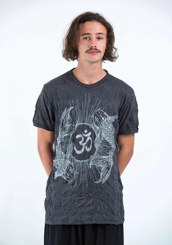 Фото Мужская футболка Ohm and Koi fish Sure Design