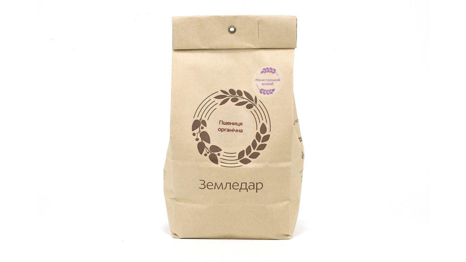 Фото Пшеница органическая в пакете