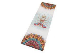 Яркий йога-мат Avalokiteshvara