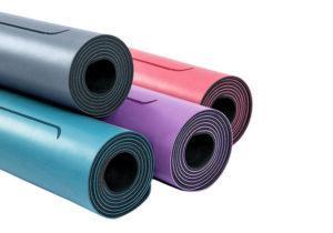 Йога-коврик из каучука и полиуретана Ganesh Amber